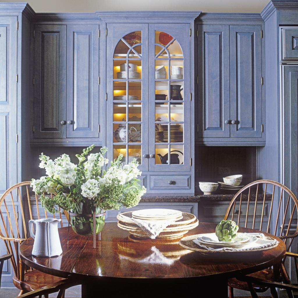 Kitchen Design Uv: Kolonial Stil